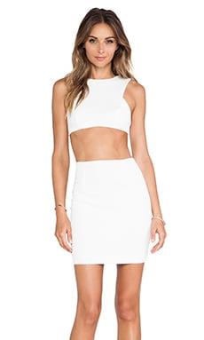 AQ/AQ Chrissy Mini Dress in Cream