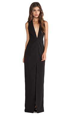 AQ/AQ Willow Maxi Dress in Black