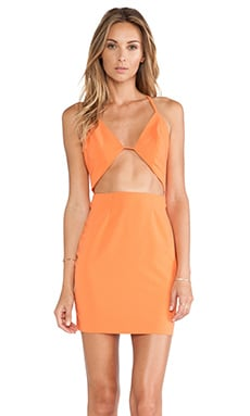 AQ/AQ Informa Mini Dress in Orange