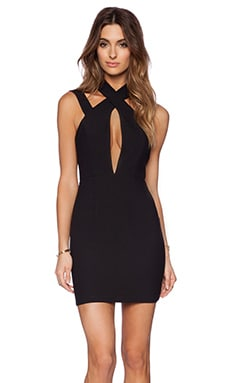 Simmer Mini Dress in Black