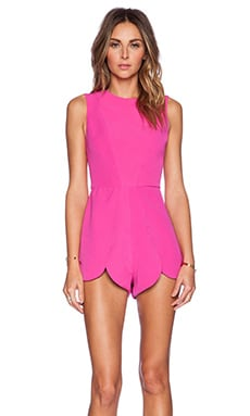 AQ/AQ Romp Playsuit in Night Life Pink
