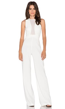 AQ/AQ Scorpio Jumpsuit in Cream