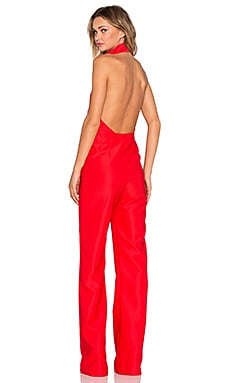 AQ/AQ Hero Jumpsuit in Roma Red