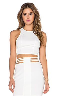 AQ/AQ Dash CropTop in Cream