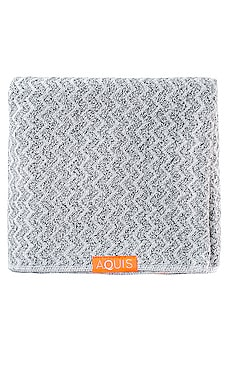 Hair Towel Chevron Weave