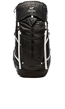 Arc'teryx Altra 50 Backpack in Carbon Copy