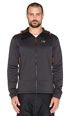 Arc'teryx Arenite Hoody in Carbon Copy