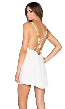 ARE YOU AM I Lux Dress in White