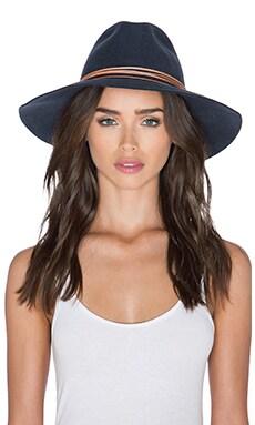Artesano Clasico Hat in Grey & Coral