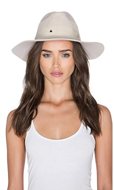 Artesano Clasico Hat in Cream & Cream