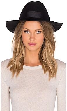 Artesano Clasico Hat in Black & Black