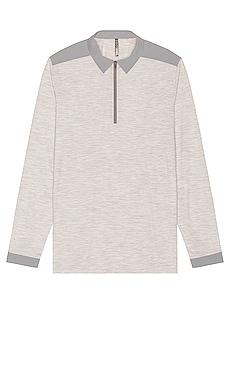 Frame Long Sleeve Polo Veilance $250