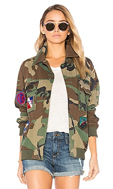 Military Vintage Jacket in Camouflage