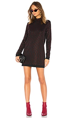 Mock Neck Mini Dress Adam Selman $322