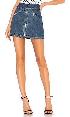 Foldover Mini Skirt Adam Selman Sport $104