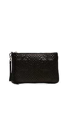 Ash Danica Clutch in Black