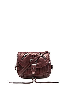 Ash Trix Crossbody in Dark Wine