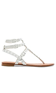Ash Mumbay Sandal in White