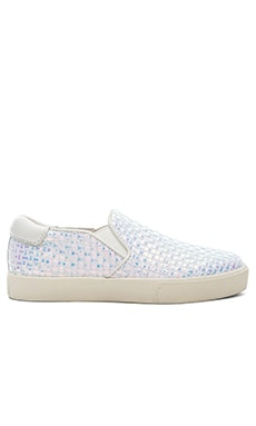 Ash Impuls Bis Sneaker in White Blue & White