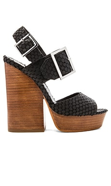Ash Rachel Heel in Black