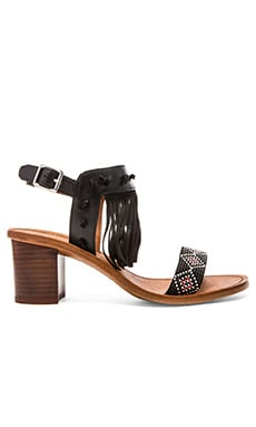 Ash Patchouli Sandal in Black