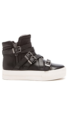 Ash Jet Sneaker in Black & Black