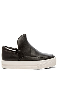Ash Jack Sneaker in Black & Black