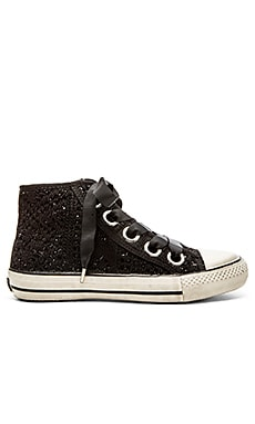 Ash Venus Sneaker in Black & Black