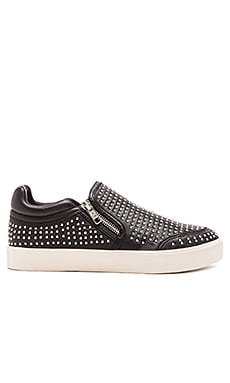 Ash Iman Slip On in Black