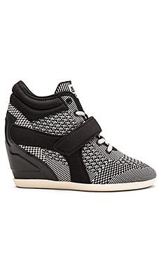Ash Bebop Sneaker in Marble & Black