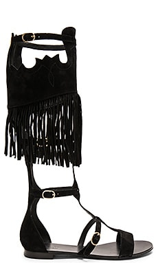 Margot Sandal en Noir