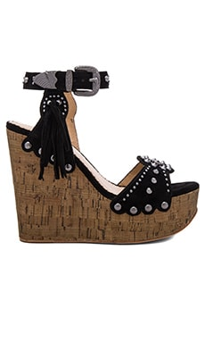 Ash Bliss Heel in Black & Desert