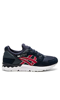 Asics Gel Lyte V in India Ink & Burgundy