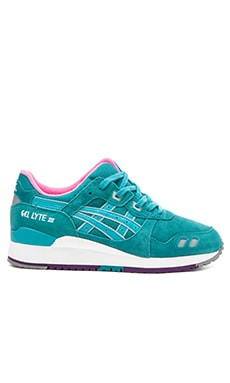 Asics Gel Lyte lll in Tropical Green