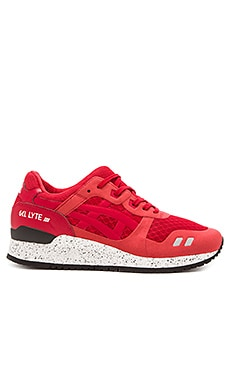 Asics Gel Lyte lll NS in Red Red