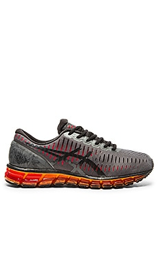 Asics Gel Quantum 360 in Carbon Black Orange