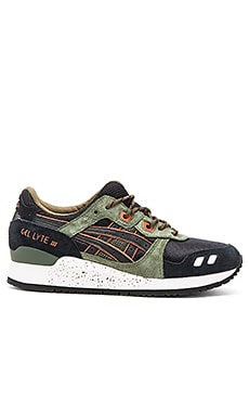 Asics Gel Lyte III in Black Black