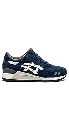 Asics Gel Lyte lll in Navy White