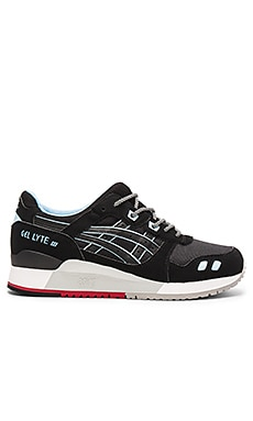 Asics Gel Lyte lll in Black Black