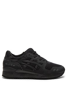 Asics Gel Lyte III NS in Black Black