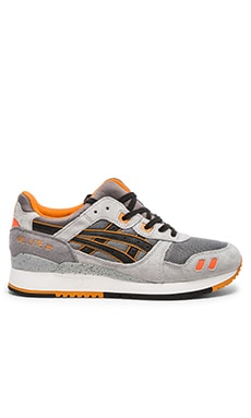 Asics Gel Lyte III in Grey Black