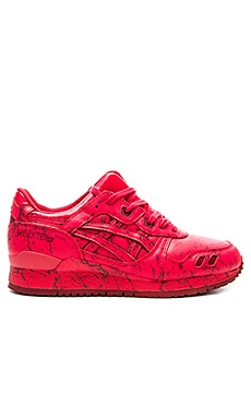 Asics Gel Lyte III in Classic Red & Classic Red