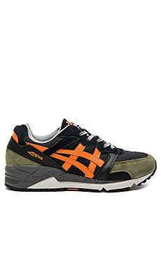 Asics Gel Lique in Black & Orange