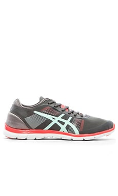 Asics Gel-Fit Nova in Granite & Mint