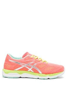Asics 33-FA in Coral & Flash Yellow