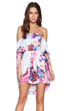 ASILIO Monster Ball Dress in Efflorescence Print