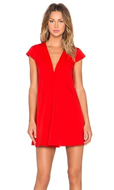 ASILIO Dusk Til Dawn Dress in Red
