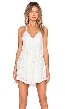 ASILIO Shine A Light Dress in Ivory