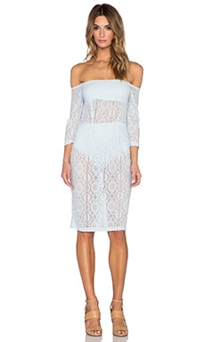 ASILIO French Affair Dress in Ice Blue