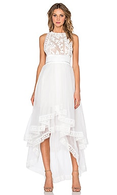ASILIO Welcome To The Dollhouse Dress in Cloud White